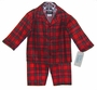 NEW Red Plaid Pajamas for Toddlers, Little Boys, and Big Boys