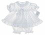 "<img src=""https://p11.secure.hostingprod.com/@grammies-attic.com/ssl/images/blue-sold-1.gif""> NEW Alexis Rosebud Print Diaper Set with Matching Bonnet"