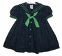 "<img src=""https://p11.secure.hostingprod.com/@grammies-attic.com/ssl/images/blue-sold-1.gif""> C. I. Castro Navy and Green Plaid Sailor Dress for Toddlers and Little Girls"