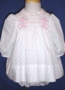 "<img src=""https://p11.secure.hostingprod.com/@grammies-attic.com/ssl/images/blue-sold-1.gif""> Polly Flinders Smocked Rosebuds Dress with Matching Bloomers"