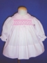 "<img src=""https://p11.secure.hostingprod.com/@grammies-attic.com/ssl/images/blue-sold-1.gif""> Polly Flinders Pink Long Sleeved Smocked Dress"