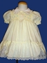 "<img src=""https://p11.secure.hostingprod.com/@grammies-attic.com/ssl/images/blue-sold-1.gif""> Polly Flinders Pale Yellow Dotted Smocked Dress"