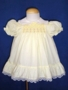 "<img src=""https://p11.secure.hostingprod.com/@grammies-attic.com/ssl/images/blue-sold-1.gif""> Polly Flinders Pale Yellow Smocked Dress with Lace"