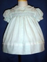 "<img src=""https://p11.secure.hostingprod.com/@grammies-attic.com/ssl/images/blue-sold-1.gif""> Polly Flinders Green and White Striped Smocked Baby Dress"