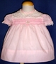 "<img src=""https://p11.secure.hostingprod.com/@grammies-attic.com/ssl/images/blue-sold-1.gif""> Polly Flinders Pink Smocked Dress with Rosebuds on Yoke"