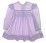 "<img src=""https://p11.secure.hostingprod.com/@grammies-attic.com/ssl/images/blue-sold-1.gif""> Polly Flinders Lilac Smocked Toddler Dress with White Collar"