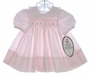 "<img src=""https://p11.secure.hostingprod.com/@grammies-attic.com/ssl/images/blue-sold-1.gif""> New Polly Flinders Tiny Pink Striped Dress with Eyelet Edged Collar"