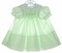 "<img src=""https://p11.secure.hostingprod.com/@grammies-attic.com/ssl/images/blue-sold-1.gif""> Polly Flinders Pale Green Smocked Dress with White Collar and Embroidered Rosebuds"