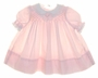 "<img src=""https://p11.secure.hostingprod.com/@grammies-attic.com/ssl/images/blue-sold-1.gif""> Polly Flinders Pale Pink Lacy Smocked Baby Dress"