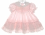 "<img src=""https://p11.secure.hostingprod.com/@grammies-attic.com/ssl/images/blue-sold-1.gif""> Polly Flinders Pink Striped Smocked Baby Dress with Ruffles and Lace"