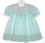"<img src=""https://p11.secure.hostingprod.com/@grammies-attic.com/ssl/images/blue-sold-1.gif""> Polly Flinders Pale Green Dress with Eyelet Trimmed Portrait Collar"