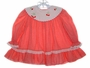 "<img src=""https://p11.secure.hostingprod.com/@grammies-attic.com/ssl/images/blue-sold-1.gif""> Polly Flinders Red Checked Dress with Cherries Embroidery"