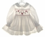 "<img src=""https://p11.secure.hostingprod.com/@grammies-attic.com/ssl/images/blue-sold-1.gif""> Polly Flinders White Dotted Smocked Toddler Dress with Embroidered Hearts"