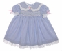 "<img src=""https://p11.secure.hostingprod.com/@grammies-attic.com/ssl/images/blue-sold-1.gif""> Polly Flinders Blue Checked Baby Dress with White Eyelet Trim"