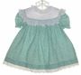 "<img src=""https://p11.secure.hostingprod.com/@grammies-attic.com/ssl/images/blue-sold-1.gif""> Polly Flinders Green Print Dress with White Eyelet Yoke"