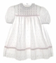 "<img src=""https://p11.secure.hostingprod.com/@grammies-attic.com/ssl/images/blue-sold-1.gif""> Polly Flinders White Eyelet Toddler Dress with Pink Embroidered Rosebuds"