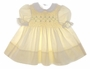 "<img src=""https://p11.secure.hostingprod.com/@grammies-attic.com/ssl/images/blue-sold-1.gif""> Polly Flinders Pale Yellow Smocked Baby Dress with White Lace Trimmed Collar"