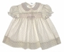 "<img src=""https://p11.secure.hostingprod.com/@grammies-attic.com/ssl/images/blue-sold-1.gif""> Polly Flinders Rosebud Print Smocked Baby Dress with Pink Embroidery"