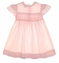 "<img src=""https://p11.secure.hostingprod.com/@grammies-attic.com/ssl/images/blue-sold-1.gif""> Polly Flinders Pink Smocked Dress with Butterfly Sleeves"