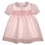 "<img src=""https://p11.secure.hostingprod.com/@grammies-attic.com/ssl/images/blue-sold-1.gif""> Polly Flinders Pink Smocked Dress with Eyelet Edged Collar"