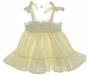 "<img src=""https://p11.secure.hostingprod.com/@grammies-attic.com/ssl/images/blue-sold-1.gif""> Polly Flinders Pale Yellow Baby Sundress with Embroidered Flowers and Eyelet Trim"
