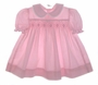 "<img src=""https://p11.secure.hostingprod.com/@grammies-attic.com/ssl/images/blue-sold-1.gif""> Polly Flinders Pink Smocked Dress with Lace Edged Collar"
