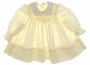 "<img src=""https://p11.secure.hostingprod.com/@grammies-attic.com/ssl/images/blue-sold-1.gif""> Polly Flinders Pale Yellow Smocked Baby Dress with Embroidered Collar"