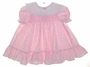 "<img src=""https://p11.secure.hostingprod.com/@grammies-attic.com/ssl/images/blue-sold-1.gif""> Polly Flinders Pink Flowered Baby Dress with White Lace Trimmed Collar"