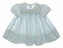 "<img src=""https://p11.secure.hostingprod.com/@grammies-attic.com/ssl/images/blue-sold-1.gif""> Polly Flinders Pale Blue Smocked Baby Dress with Lace Trimmed Collar"
