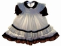 "<img src=""https://p11.secure.hostingprod.com/@grammies-attic.com/ssl/images/blue-sold-1.gif""> Polly Flinders White Smocked Toddler Dress and Matching Pinafore with Plaid Trim"