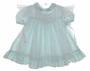 "<img src=""https://p11.secure.hostingprod.com/@grammies-attic.com/ssl/images/blue-sold-1.gif""> Polly Flinders Green Striped Seersucker Dress with Sheer White Smocked Pinafore"