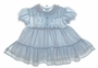 "<img src=""https://p11.secure.hostingprod.com/@grammies-attic.com/ssl/images/blue-sold-1.gif""> Polly Flinders Pale Blue Smocked Baby Dress with White Lace Trimmed Collar"