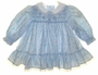 "<img src=""https://p11.secure.hostingprod.com/@grammies-attic.com/ssl/images/blue-sold-1.gif""> Polly Flinders Blue and Pink Print Smocked Dress with Lace Trimmed White Collar"