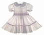 "<img src=""https://p11.secure.hostingprod.com/@grammies-attic.com/ssl/images/blue-sold-1.gif""> Polly Flinders Lavender Dotted Smocked Dress with Lavender Embroidery"