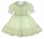 "<img src=""https://p11.secure.hostingprod.com/@grammies-attic.com/ssl/images/blue-sold-1.gif""> Polly Flinders Lime Smocked Dress with White Eyelet Trim"