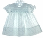 "<img src=""https://p11.secure.hostingprod.com/@grammies-attic.com/ssl/images/blue-sold-1.gif""> Polly Flinders Tiny White Smocked Dress with Blue Rosebuds"
