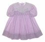 "<img src=""https://p11.secure.hostingprod.com/@grammies-attic.com/ssl/images/blue-sold-1.gif""> Polly Flinders Lilac Smocked Toddler Dress with White Organdy Embroidered Collar"