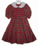 "<img src=""https://p11.secure.hostingprod.com/@grammies-attic.com/ssl/images/blue-sold-1.gif""> Polly Flinders Red Plaid Taffeta Smocked Party Dress"