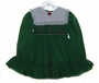 "<img src=""https://p11.secure.hostingprod.com/@grammies-attic.com/ssl/images/blue-sold-1.gif""> Polly Flinders Green Smocked Toddler Dress with Embroidered Candy Canes"