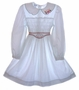 "<img src=""https://p11.secure.hostingprod.com/@grammies-attic.com/ssl/images/blue-sold-1.gif""> Polly Flinders White Dotted Smocked Dress with Holiday Embroidery"