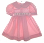 "<img src=""https://p11.secure.hostingprod.com/@grammies-attic.com/ssl/images/blue-sold-1.gif""> Polly Flinders Pink Checked Smocked Dress with Green Embroidery"