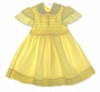 "<img src=""https://p11.secure.hostingprod.com/@grammies-attic.com/ssl/images/blue-sold-1.gif""> Polly Flinders Yellow Smocked Dress with Lace Trimmed Butterfly Sleeves"