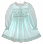 "<img src=""https://p11.secure.hostingprod.com/@grammies-attic.com/ssl/images/blue-sold-1.gif""> Polly Flinders Pale Green Smocked Dress with White Embroidered Collar"