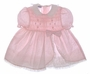 "<img src=""https://p11.secure.hostingprod.com/@grammies-attic.com/ssl/images/blue-sold-1.gif""> Polly Flinders Pink or Blue Flowered Smocked Baby Dress with Lacy Petticoat"