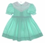 "<img src=""https://p11.secure.hostingprod.com/@grammies-attic.com/ssl/images/blue-sold-1.gif""> Polly Flinders Green Smocked Dress with White Eyelet Yoke"