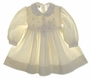 "<img src=""https://p11.secure.hostingprod.com/@grammies-attic.com/ssl/images/blue-sold-1.gif""> Polly Flinders Ivory Smocked Corduroy Toddler Dress with Embroidered Pink Rosebuds"
