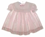 "<img src=""https://p11.secure.hostingprod.com/@grammies-attic.com/ssl/images/blue-sold-1.gif""> Polly Flinders Pale Pink Floral Striped Toddler Dress with White Lace Trimmed Collar"