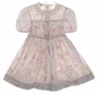 "<img src=""https://p11.secure.hostingprod.com/@grammies-attic.com/ssl/images/blue-sold-1.gif""> Polly Flinders Taupe Flowered Smocked Dress with Ivory Eyelet Collar"