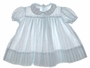 "<img src=""https://p11.secure.hostingprod.com/@grammies-attic.com/ssl/images/blue-sold-1.gif""> Polly Flinders White Baby Dress with Pink and Blue Flowers"