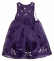 "<img src=""https://p11.secure.hostingprod.com/@grammies-attic.com/ssl/images/blue-sold-1.gif""> NEW Polly Flinders Navy Silk Long Toddler Dress with Embroidered Flowers"